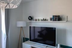 Wohnzimmer mit Multimediaausstattung