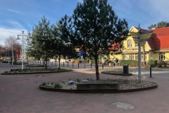Platz im Ortskern
