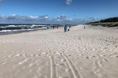 Strand mit Blick auf die Ostsee