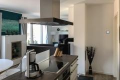 Kochstelle in der Küche